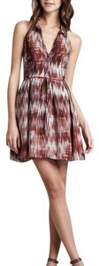 Elizabeth and James short dress Brown combo on Tradesy