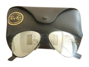 Ray-Ban Black Mirror Aviator Ray Ban Sunglasses