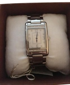 Coach Coach Lexington Stainless MOP crystal watch