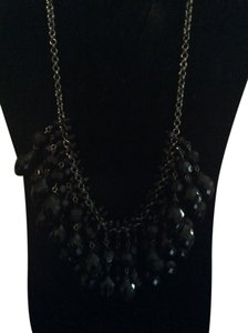 Other Black jeweled necklace