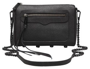 Rebecca Minkoff Edgy Sleek Leather Classic Cross Body Bag