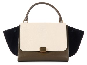 Céline Ce.k0818.10 Leather Suede Satchel