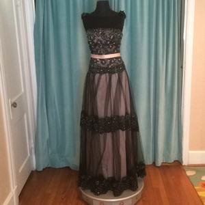 Ambiance Blush/Black Dress