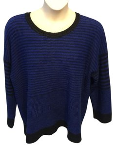 Jones New York Striped Tunic Sweater