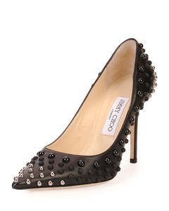 Jimmy Choo Black/Silver Pumps