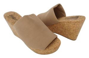 Lucky Brand Size 10 Nude Wedges