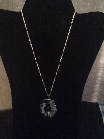 Other Blue geode necklace