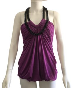 Yigal Azrouël Blouses Designer Chain Top Purple