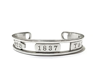 Tiffany & Co. Tiffany & Co 1837 Elements Cuff Bracelet Sterling Silver