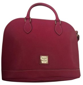 Dooney & Bourke Satchel in Hot Pink
