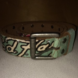 Ed Hardy Mermaid Belt