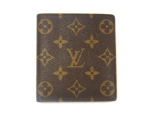 Louis Vuitton 10x Credit Card Monogram Canvas Leather Bifold Wallet w/ Box
