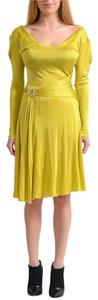 Versace Collection short dress Yellow on Tradesy