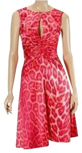 Just Cavalli Leopard Animal Print Cheetah Dress