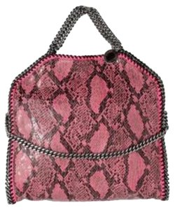 Stella McCartney Python Faux Leather Falabella Tote Hobo Bag