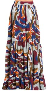 TOV Holy Tov Tov Maxi Skirt Multicolor