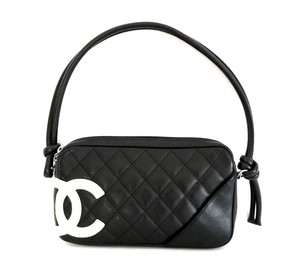 Chanel Pochette Cambon Quilted Shoulder Bag