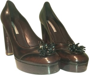 Stella McCartney Brown Platforms