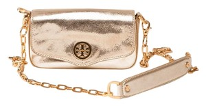 Tory Burch Leather Chain Strap Cross Body Bag