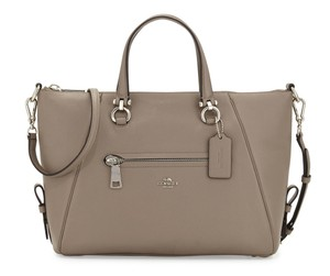 Coach Satchel in SILVER/FOG