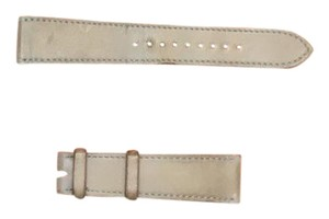 Hermès Hermes watch band in grey leather