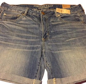 American Eagle Outfitters Bermuda Shorts Blue Jean