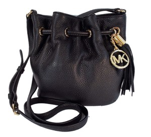 Michael Kors Ring Drawstring Tote in Black