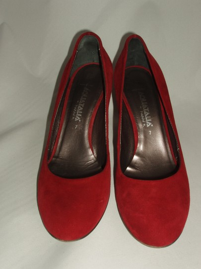 Aquatalia Chianti Red Pumps