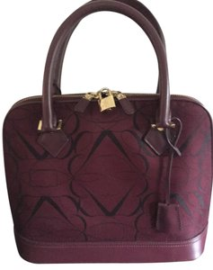 Brooks Brothers Satchel in Burgundy