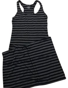 Black/grey Maxi Dress by Ninety