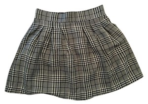 Candie's Lined Plaid Checked Checkered Skirt