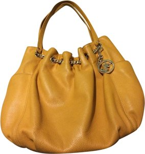 Michael Kors Gold Chain Shoulder Bag