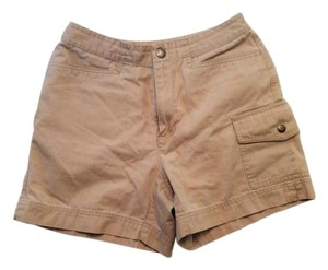 Liz Claiborne Cargo Dress Shorts Tan