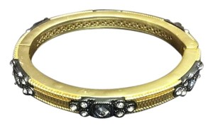 Other Satin Hamilton Gold E.Coated Bracelet with Crystals