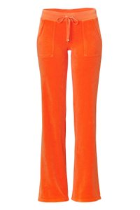 Juicy Couture Basic Straight Pants orange
