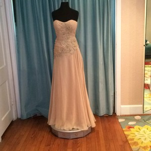 Kathy Ireland Champagne Dress
