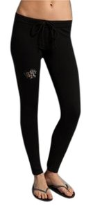 Twisted Heart Juicy Twisted Skinny Pants Black