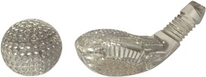 Waterford Waterford Crystal Golfer's Desk/Table Accessories [ Roxanne Anjou Closet ]