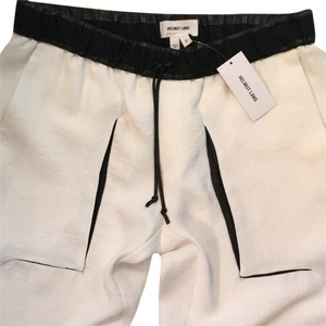 Helmut Lang Baggy Pants White and black