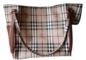 Burberry Tote in brown and tan