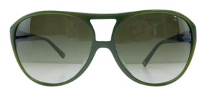 Moschino New MO55202 Green Matte Black Plastic Full-Frame Gradient 60mm