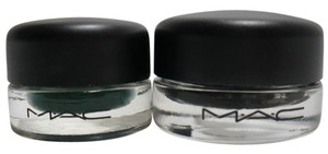 MAC Cosmetics SHADE Fluidline Eye-Liner Gel + BLACKGROUND Paint Pot MSRP $39 total
