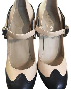 Chanel Nude Mules