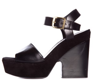 Cline Black Platforms