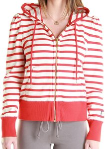 Juicy Couture Red White Sweatshirt