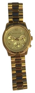 Michael Kors Michael Kors Runway Gold-Tone Chronograph Watch