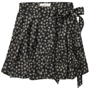 Abercrombie & Fitch Skirt Black Pattern