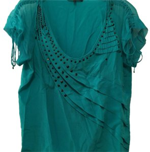 Nanette Lepore Top Turquoise