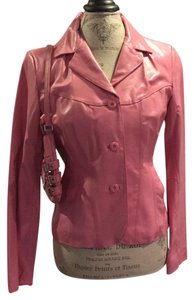 Wilsons Leather Leather Moto Leather Leather Pink Leather Jacket