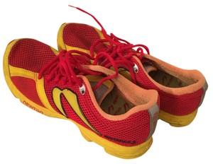 Newton Running Shoes Red & Yellow Athletic
